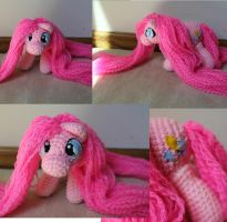Princess Hair Pinkie Pie 2 by Melyntenshi