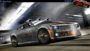 Camaro SS Death Race by mateus12345