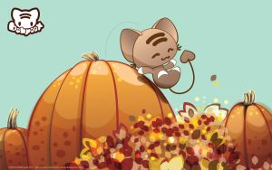 Pumpkin Jumpin Wallpaper by lafhaha