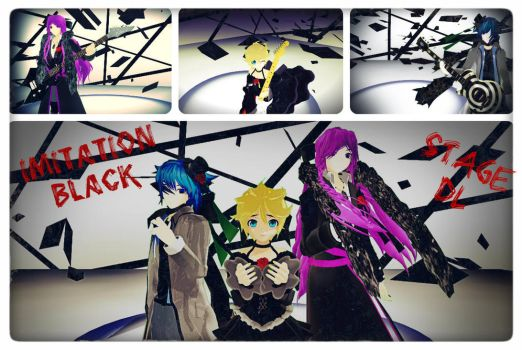 MMD Imitation Black Stage DL by PrincessSushiCat