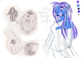 Slayers-Lilly Concept Sketches by WhiteMagicPriestess