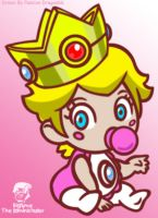 Baby Peach By Passion Dragon66 by TheEdMinistrator765