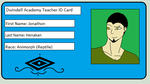 Dwindell Academy Teacher ID Card by xXNinja-GingaXx