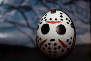 Jason Voorhegg closeup by one-slip