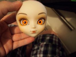 Glass Zombie Eyes for Pullip Dolls by Create-A-Pendant