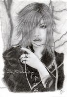 The Gazette: Uruha by GiovyLoCa