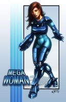 Mega Woman by Emortal982