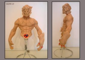 lion o sculpt by Leadjunky