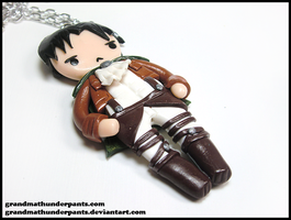 Levi Necklace by GrandmaThunderpants