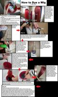 How to Dye a Wig in 10$ or Less by Srippii