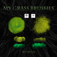 My Grass Brushes by Hvan