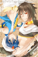 Aladdin and Judal by trudyfish