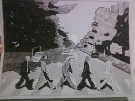 ABBEY ROAD COMMISSION by shawncomicart