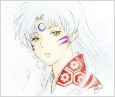 Sesshomaru by Kei-Koo