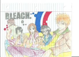 Bleach Characters by verypen