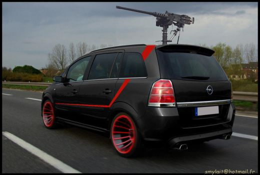 A-Team Opel Zafira by Toun57
