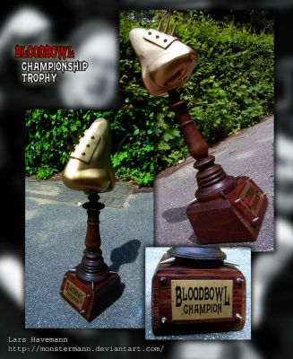 BloodBowl Trophy by Monstermann