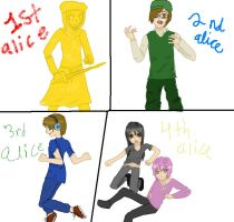 alice of human sacrifice Pewdie and his bros by nohugforanyofyou