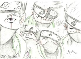 Kakashi is everywhere by Ted-The-Fish