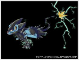 Luxray Charge by Photo-Freak7