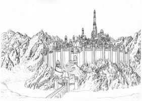 Gondolin in Splendour by neral85