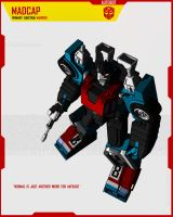 AUTOBOT MADCAP by F-for-feasant-design