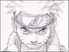 my drawing of naruto by sonicfcdrawer123
