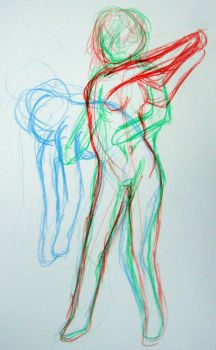 Life Drawing Motion 3 by cardcaptorclaire