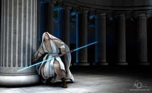 Jedi Knight from StarWars by mike-reiss