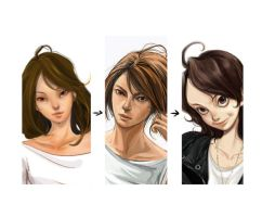 character's evolvement nancy by nancy0039