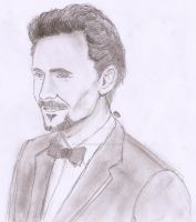 Tom Hiddleston by Grimmynette