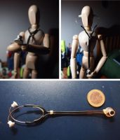 Miniature stethoscope by barnsdale11