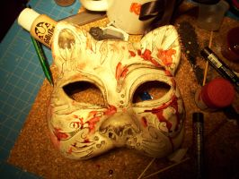 Bioshock Splicer mask by NeoSaturn69