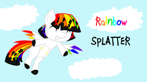 Rainbow Splatter by Black-Rose-Emy