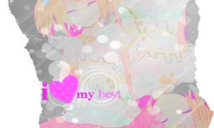 I heart my best by Minni-Alice