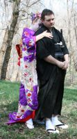 Ode To Kyoto Couple 22 by Falln-Stock