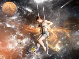 Swing on the Space by erkanozan