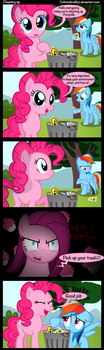 Cleaning up. by Coltsteelstallion