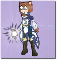 Priest Enza :Shaded: by UniqueMelody