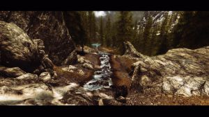 Mountain Stream by lupusmagus