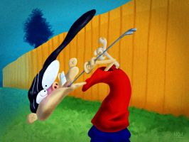 Edd and crowbar a freeze frame paint-over by qulr