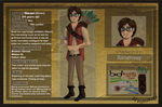 Sean ref- The lands of legend by DancingfoxesLF