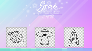 +.Space brushes by Focus-On-Me29