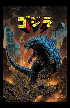 Godzilla: King of the Monsters by boognish420