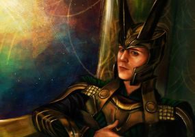 Loki by Fanartittude