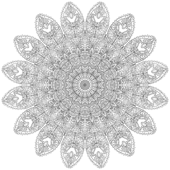 Colouring Book 5/?: Intricate Pattern by ellbeh