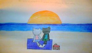 Do you remember how we felt sitting by the water by sunny0509