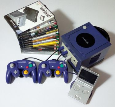 My Gamecube collection. by GrimShady