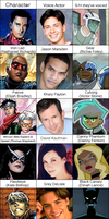 Young Avengers Voice Cast by juanito316ss