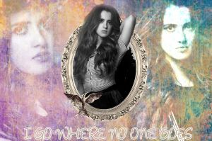 I Go Where No One Goes  Laura Marano   PXD  by InfiniteFanForever